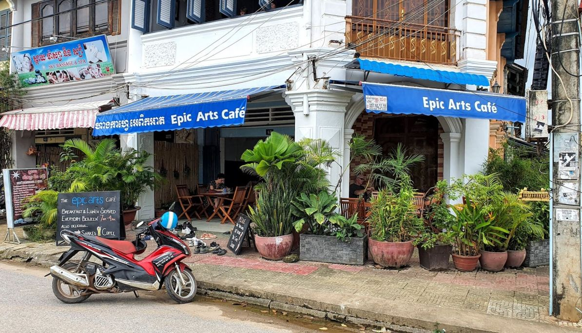 Epic Arts Cafe Kampot