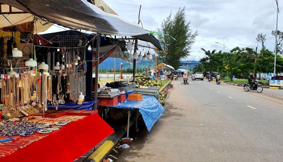 Markets in Kampot