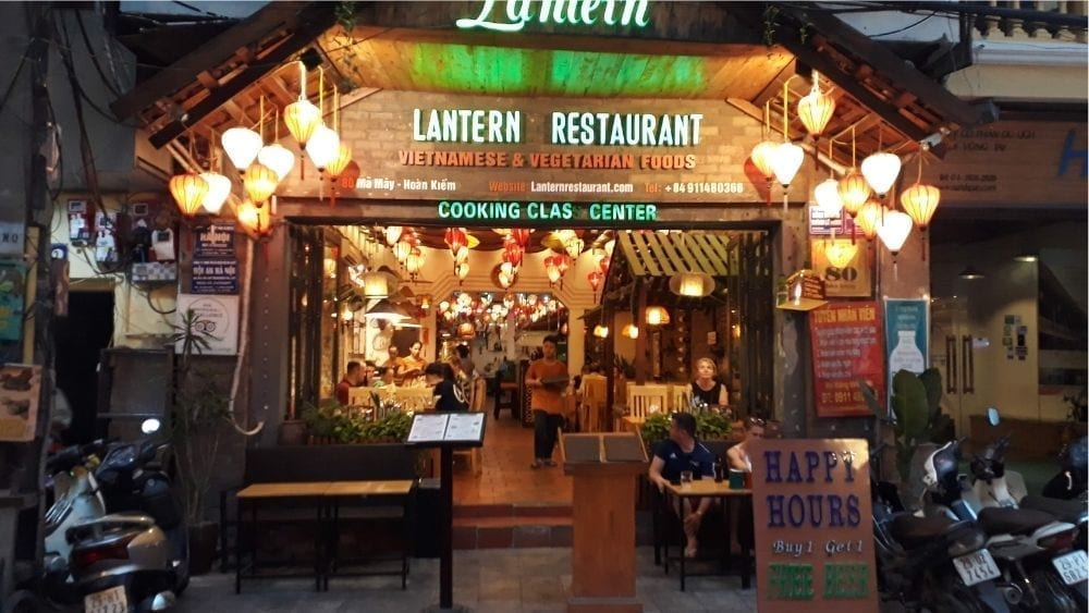 Lantern Restaurant in Hanoi