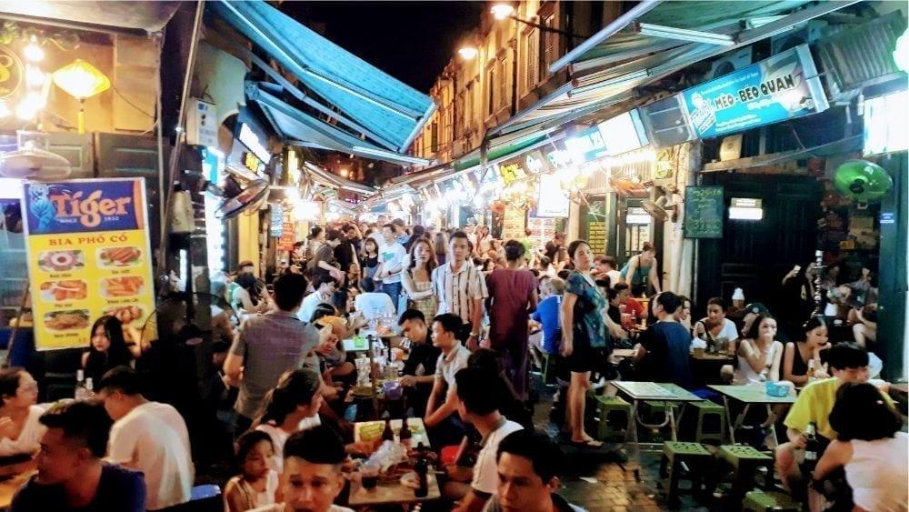Beer Street - Ta Hien Street Hanoi