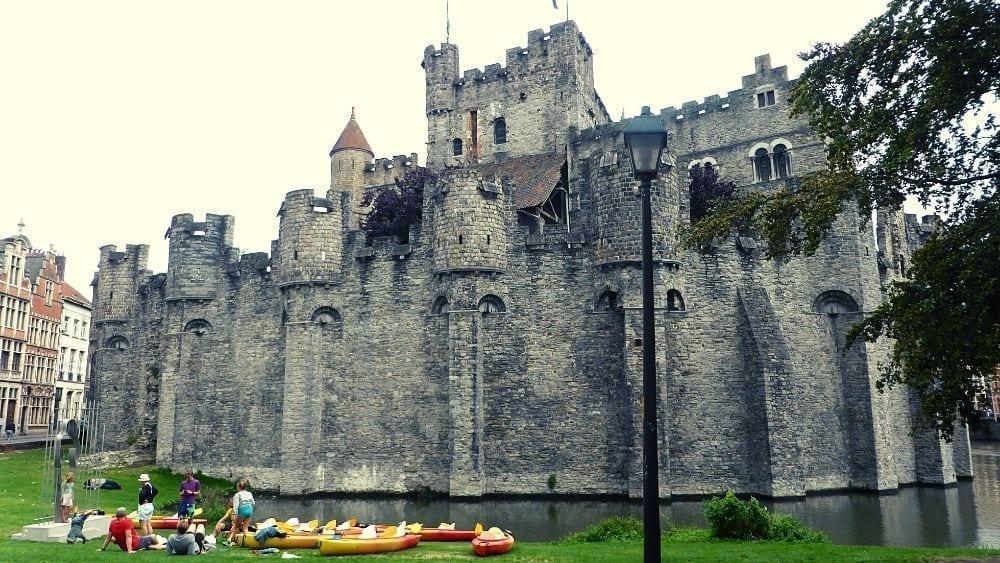 Visit Ghent Castle