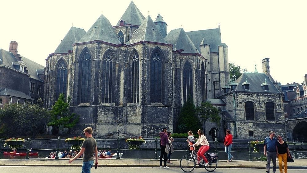 Visit the many churches in Ghent