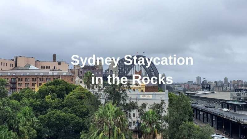 View of the Rocks in Sydney