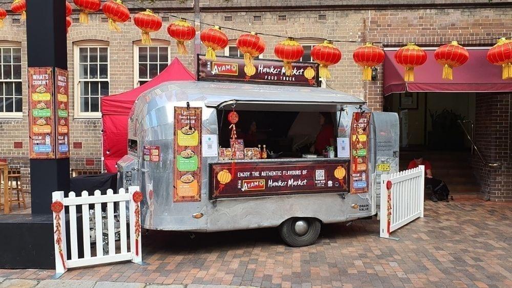 Lunar Markets Food Truck