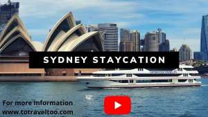 Youtube video of our Sydney Staycation