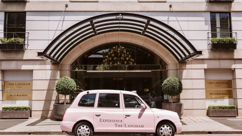 Pink Taxi Tours from the Langham Hotel