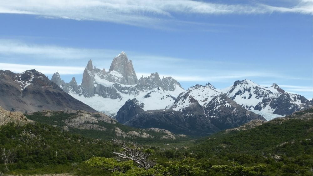 View of Mt Fitzroy
