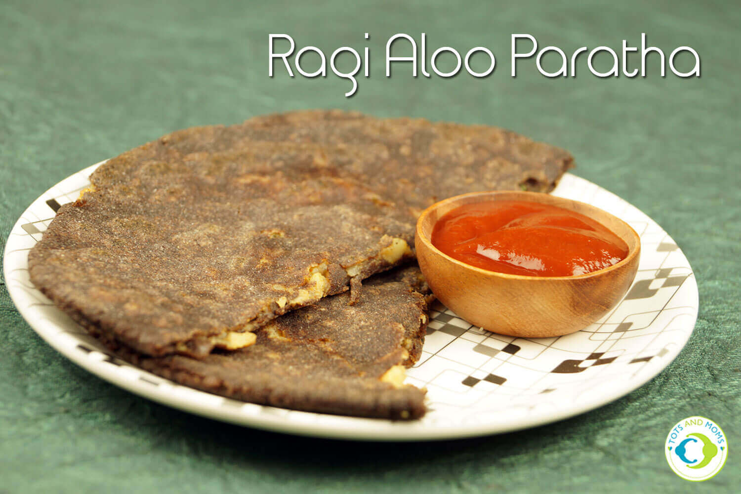 RAGI ALOO PARATHA for Toddlers, Kids & Family Paratha with Finger millet