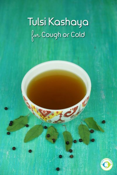 TULSI KASHAYA - COUGH & COLD HOME REMEDY for Toddlers, Kids & Family