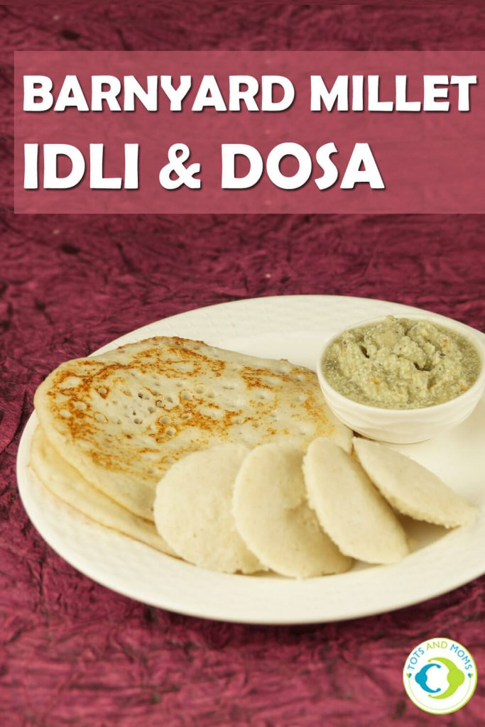 BARNYARD MILLET IDLI & DOSA - GLUTEN FREE DIABETIC FRIENDLY RECIPE for Babies, Toddlers, Kids & Family Finger food for babies 8 months +