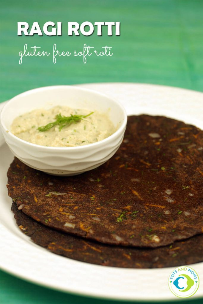 RAGI ROTTI - DIABETIC FRIENDLY & GLUTEN FREE FOOD for Babies, Toddlers, Kids & Family Ragi Rotti easy recipe with Finger Millet