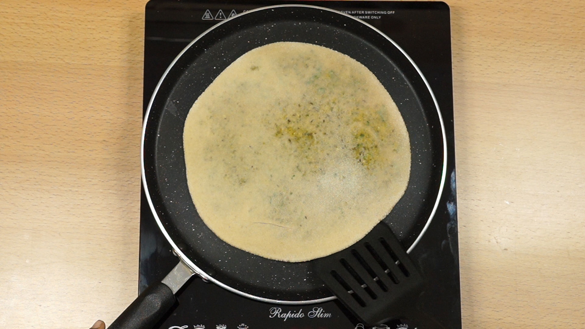 sprouted moong paratha recipe