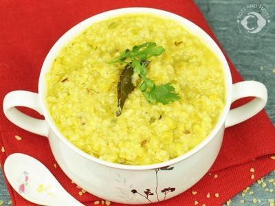 Daliya Paneer Khichdi for Babies and Kids
