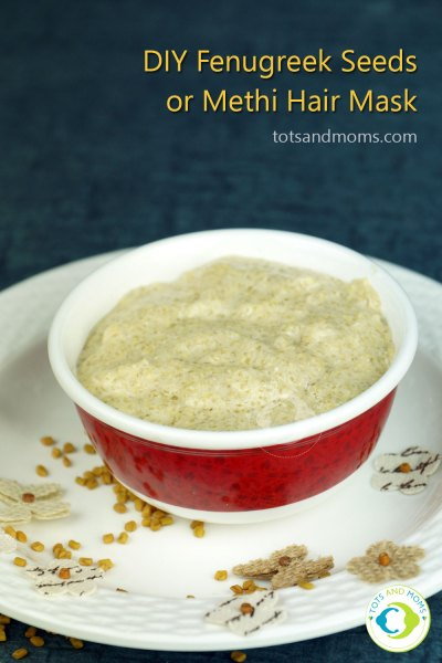 DIY Fenugreek Hair Mask Postpartum Hair Fall control after delivery mother