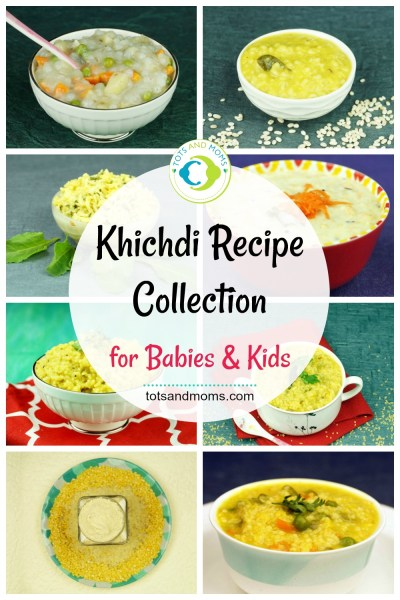 Khichdi Recipes Collection for Babies and Kids kannada hindi