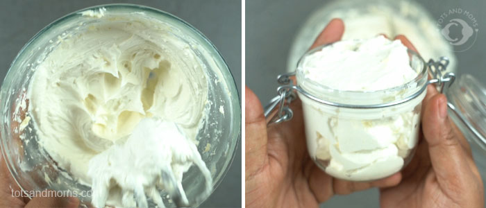 DIY Body Butter - Stretchmark control during Pregnancy whipped butter postpartum cocoa butter skin treatment home remedy kannada hindi