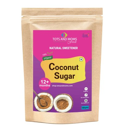 Buy Coconut Sugar online tots and moms foods for babies, kids, adults, kannada hindi