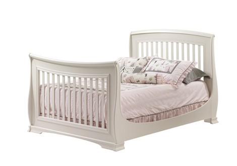 Natart Bella 4 In 1 Convertible Crib As Double Bed Linen