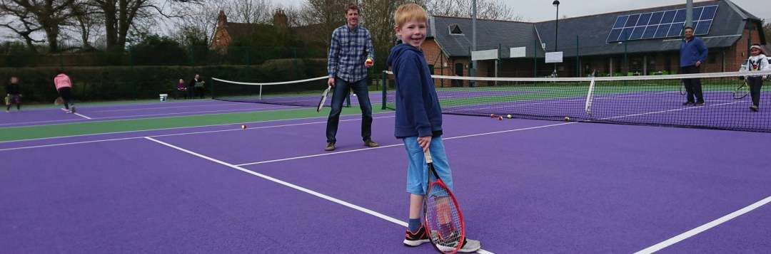 A true community tennis centre for all of the family