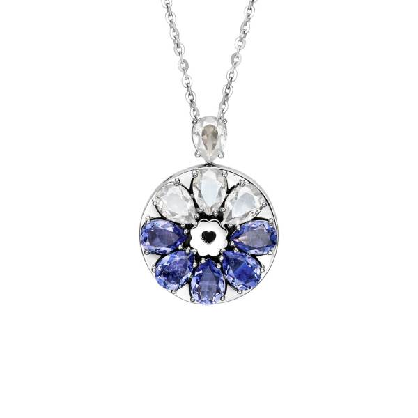 Totwoo Swarovski sea wind necklace