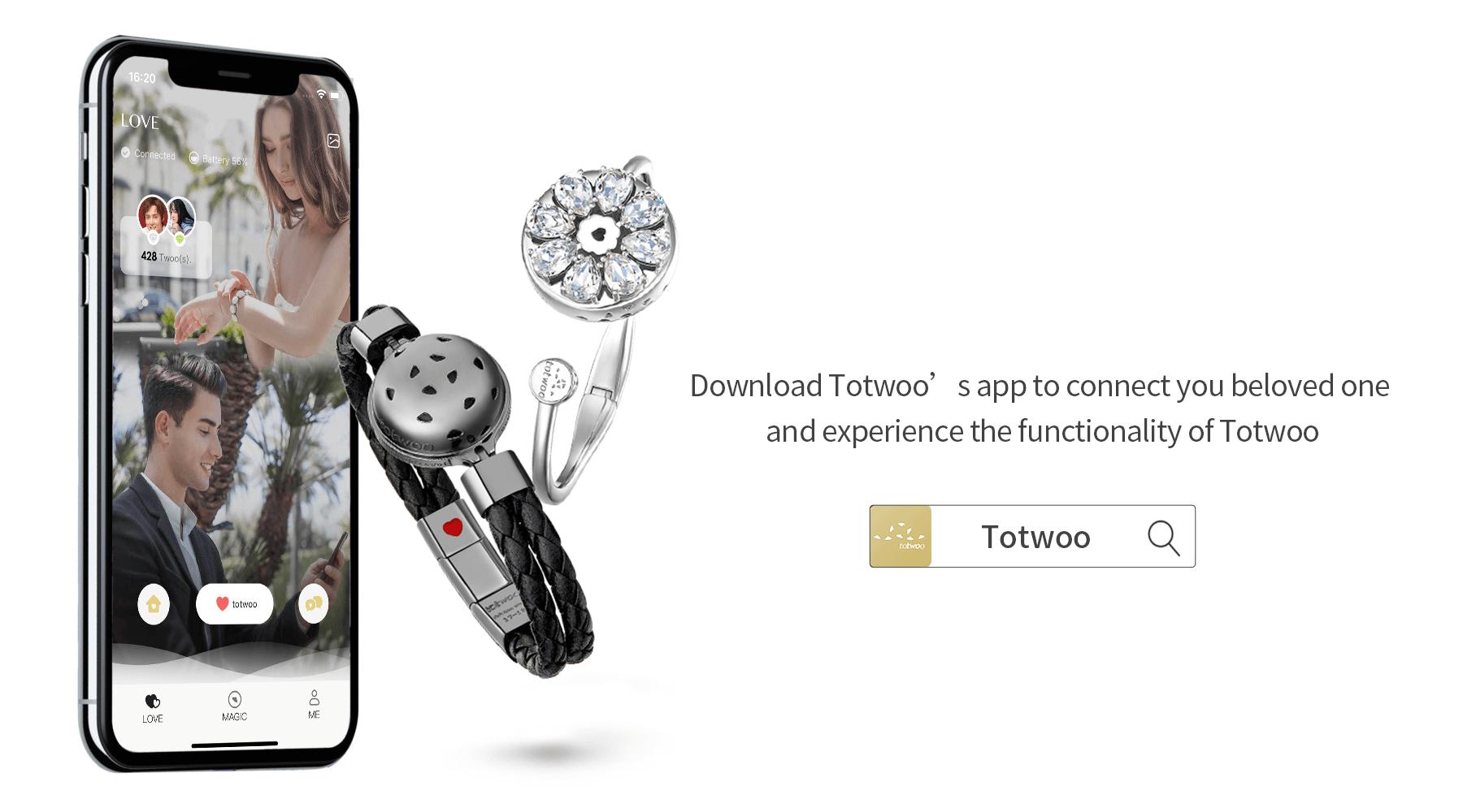 Totwoo couple app