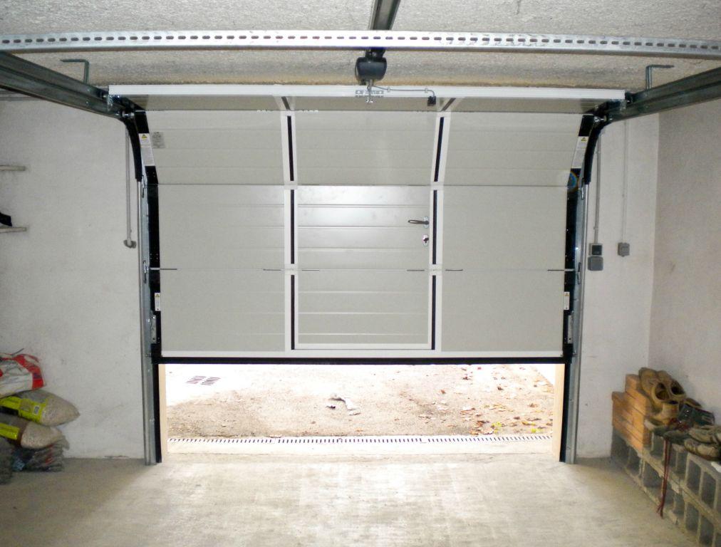 Porte De Garage Sectionnelles Touat Menuiserie