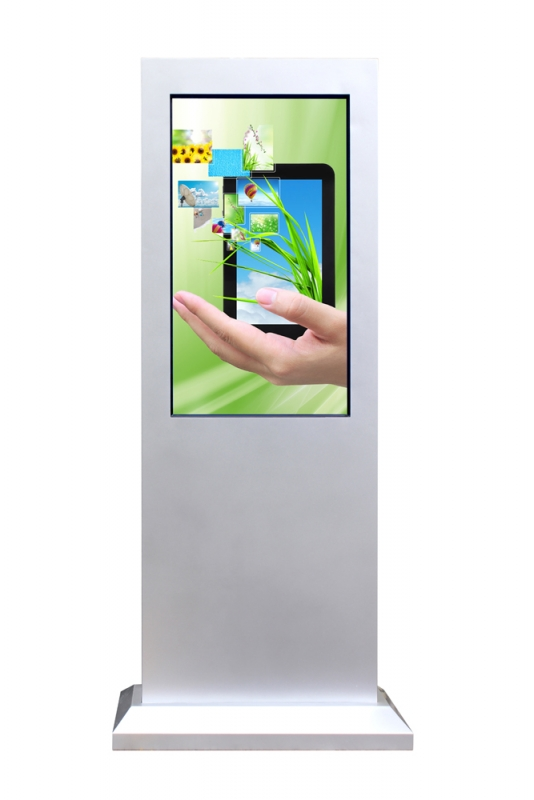 "Vertical Touchscreen outdoor 55"" (Frontalansicht)"