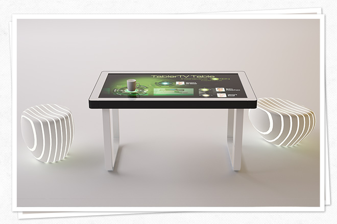 Interaktiver Touchscreen-Table