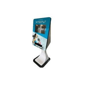 SmartCurve Card dispensing touch screen kiosk