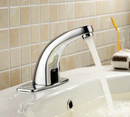 Lightinthebox Deck Mount Solid Brass Auto Sensor Bathroom Sink ...