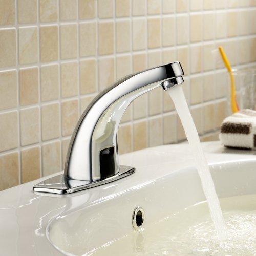 glacier bay roman tub faucet.  Sink Faucet with Automatic Sensor Chrome Bath Tub Unique Designer Vanity Plumbing Fixtures Roman Faucets Lavatory Glacier Bay Lightinthebox Deck Mount Solid Brass Auto Bathroom