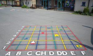 Educational Surface Marking   Touchline Marking