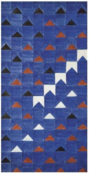 Alfredo Volpi, Bandeirinhas estruturadas (ca. 1966)