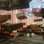 "Chiharu Shiota, ""Accumulation: Searching for Destination"" (2014-2016)"
