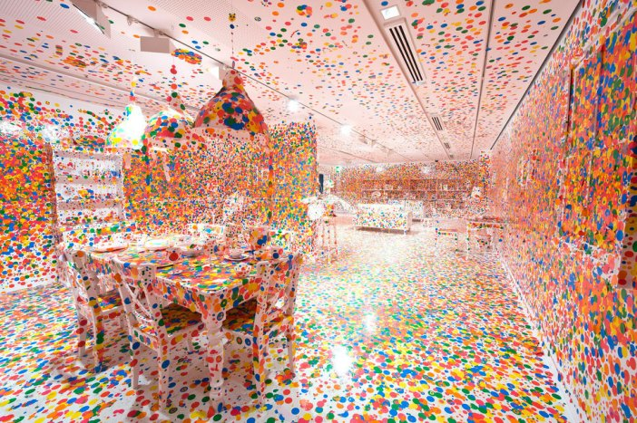 Yayoi Kusama, The Obliteration Room, 2002