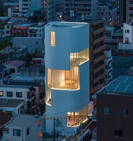 Prédio em Shinjuku, Tóquio, projetado por Kume Sekkei, que vai abrigar o Museu
