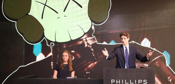 Phillips London estabelece quase 20 recordes em leilão de artistas emergentes