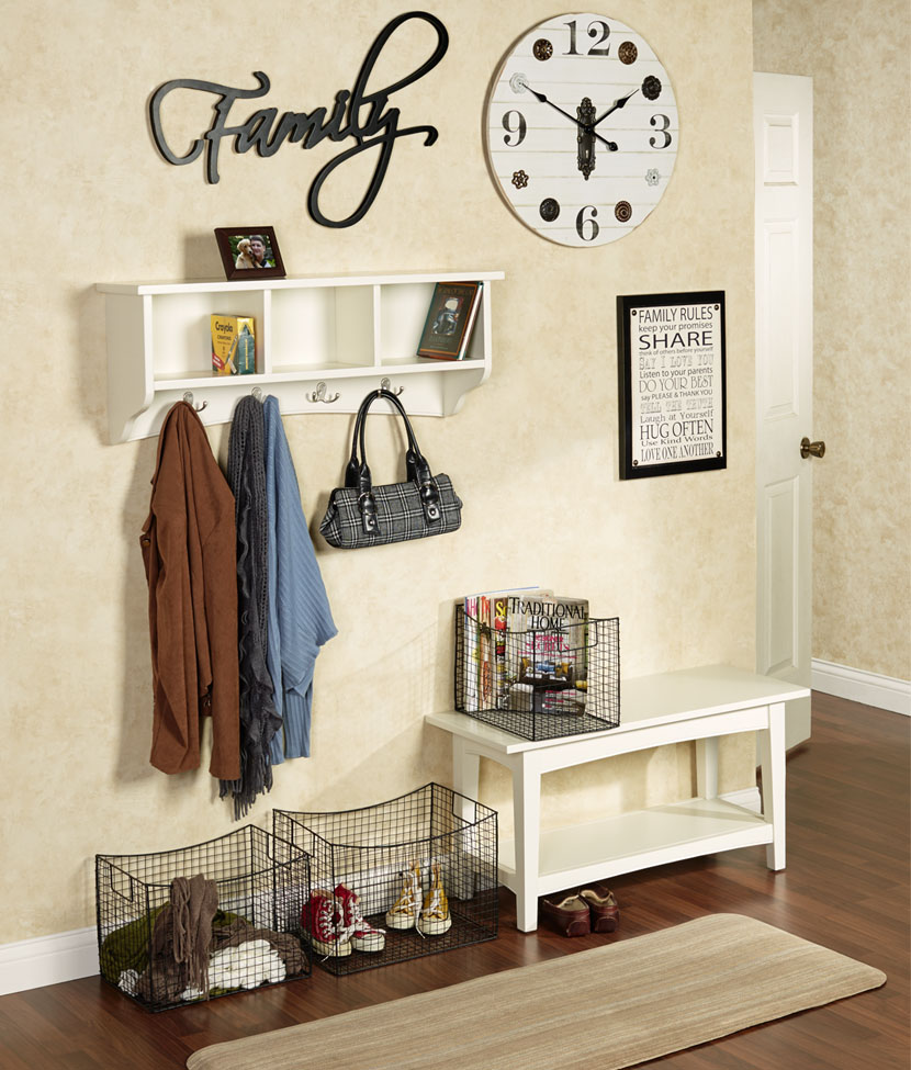 Decorative Ideas For Entryway Organization Touch Of Class