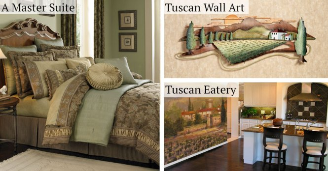 Tuscan Bedroom Decor