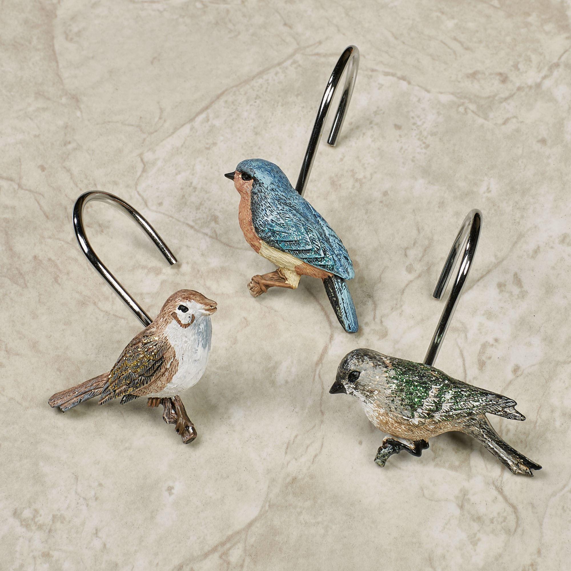 Love Nest Birds Shower Curtain