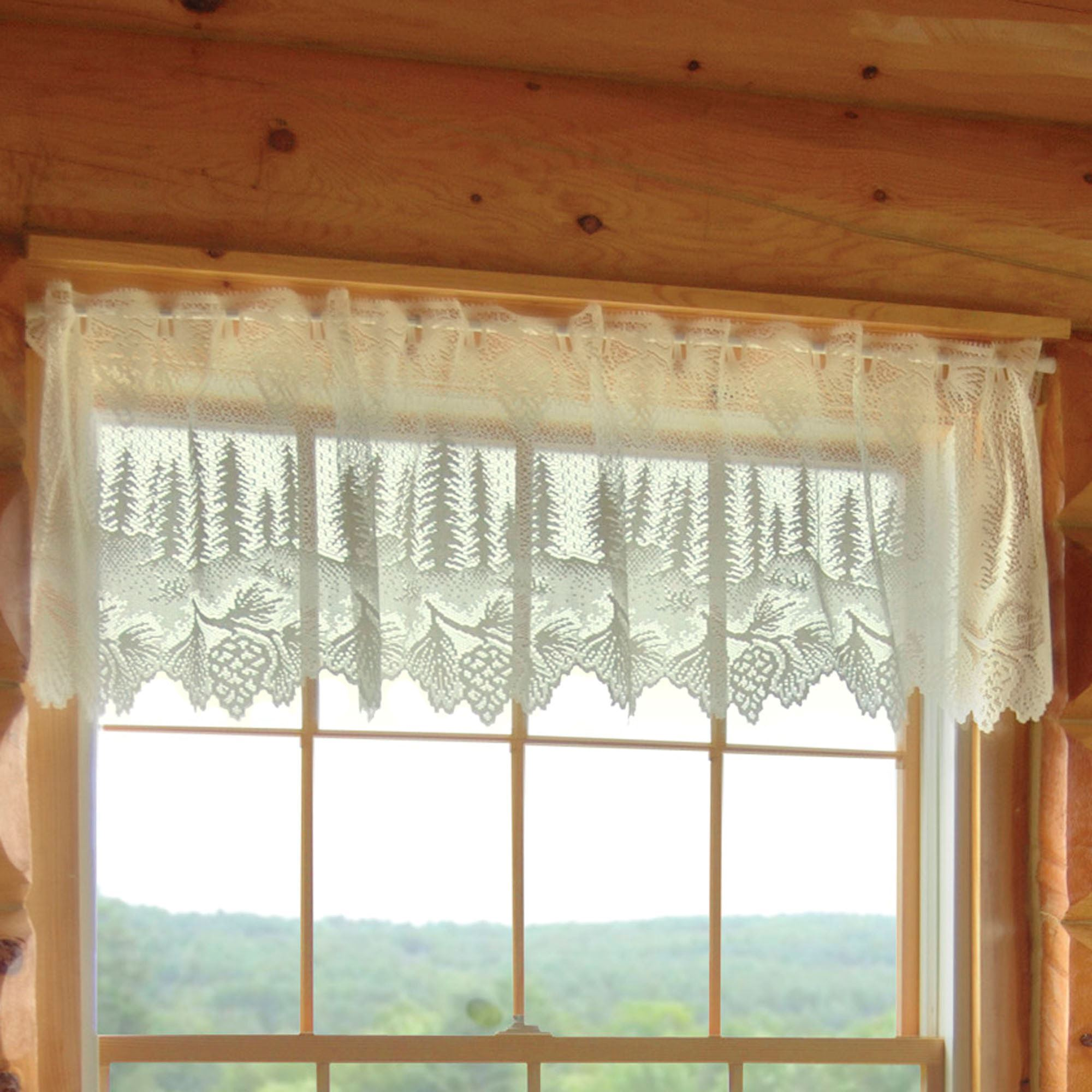 12 curtains for log homes ideas