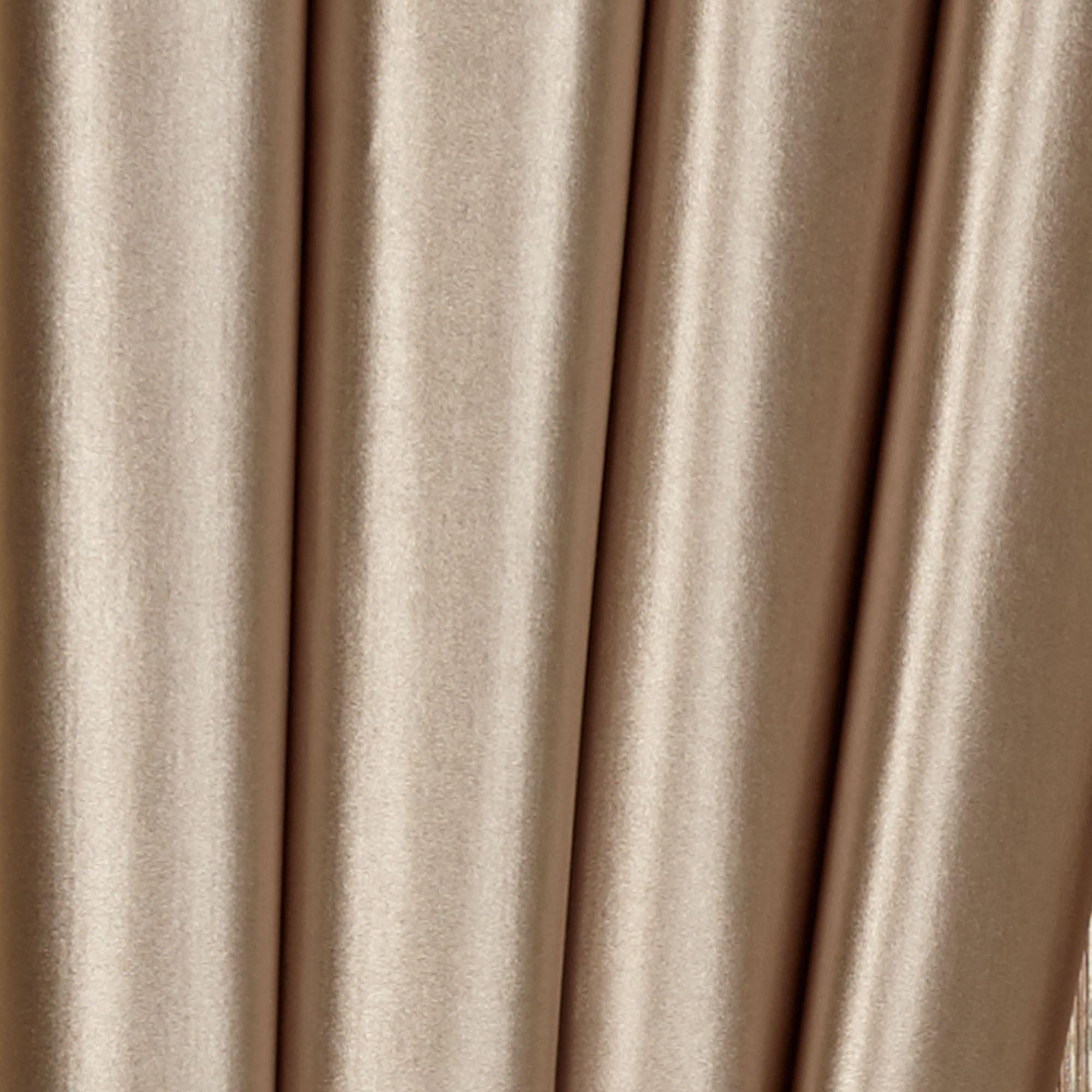 Shimmer Satin Toga Valance Window Treatment