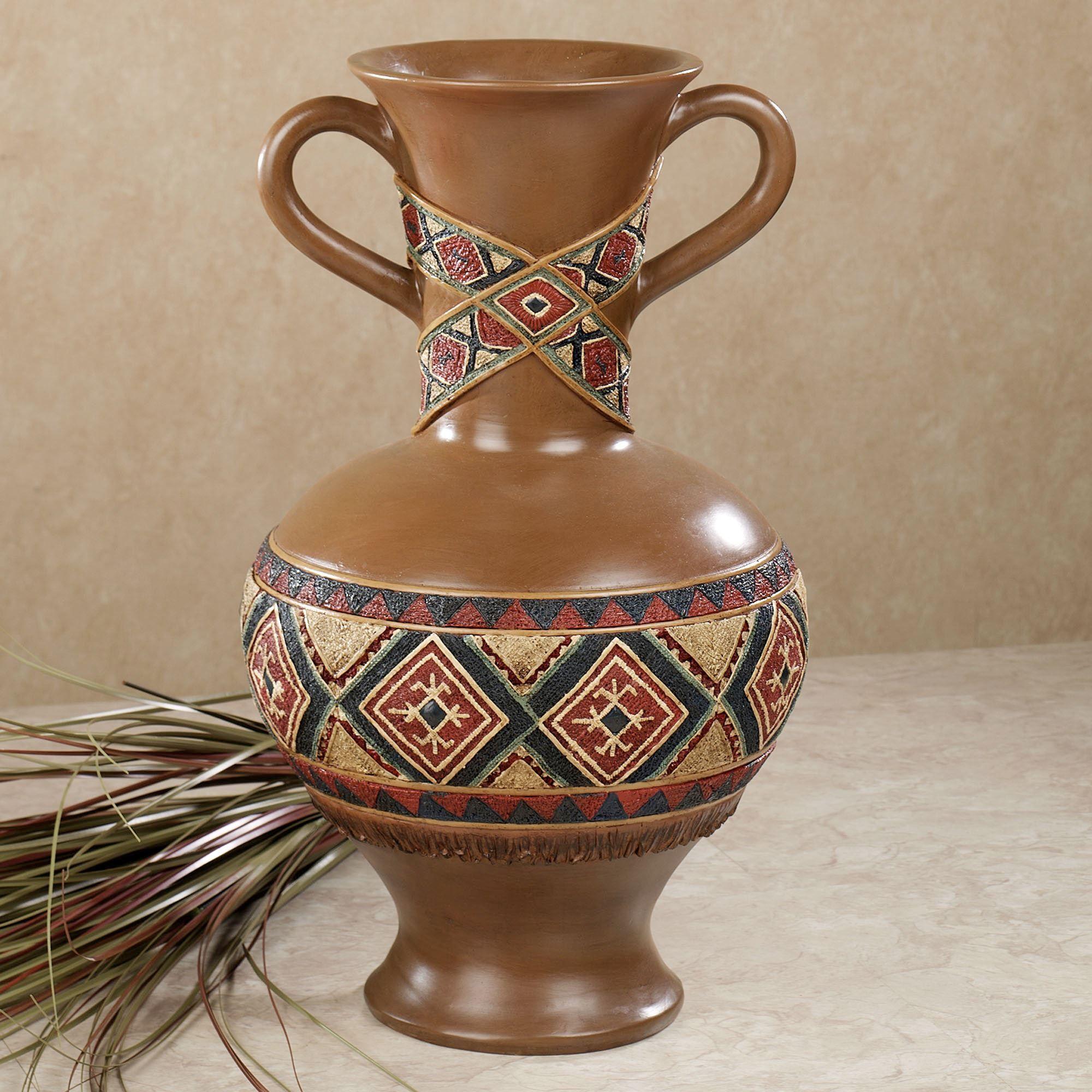 tribal spirit southwest decorative table vase