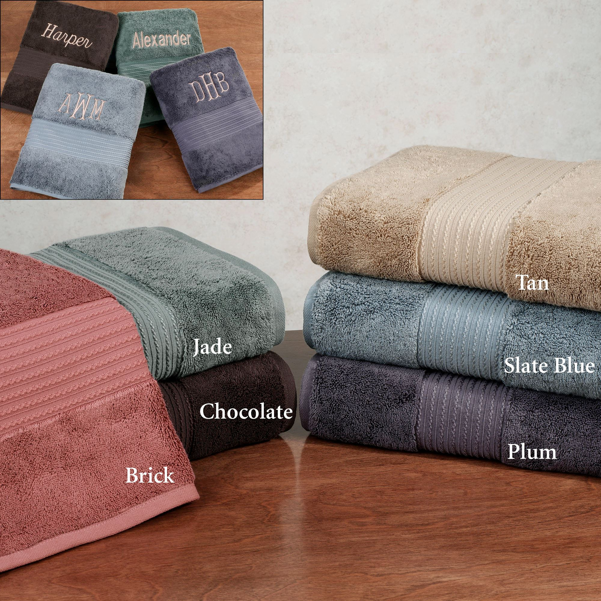650 gsm kassasoft supima cotton bath towels
