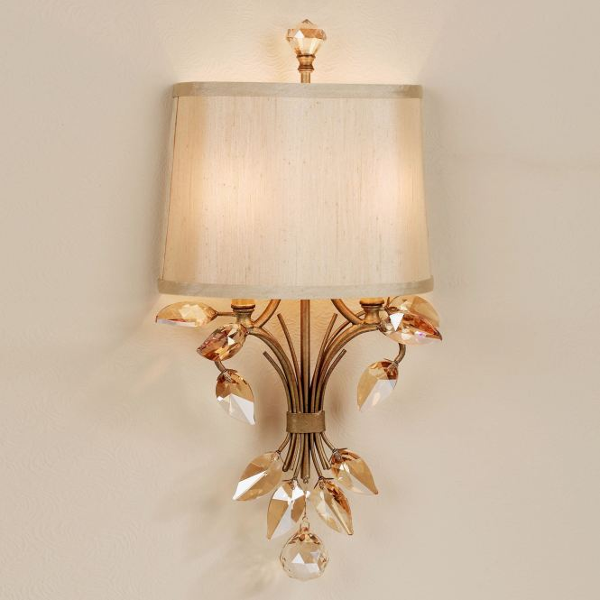 Elena Wall Sconce Burnished Gold Click To Expand