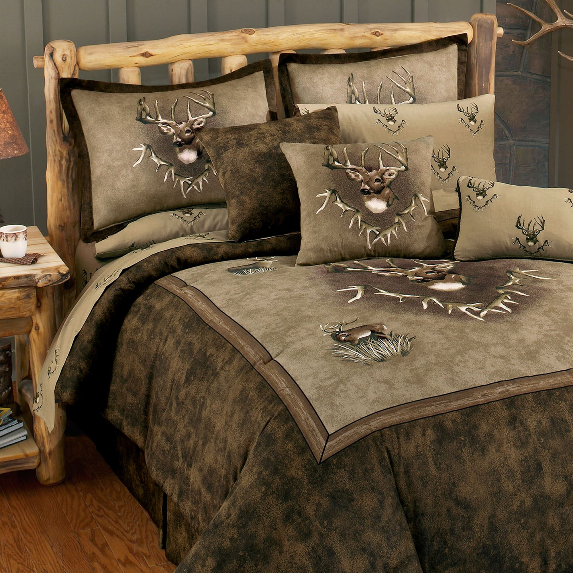 Deer Holiday Accents Home