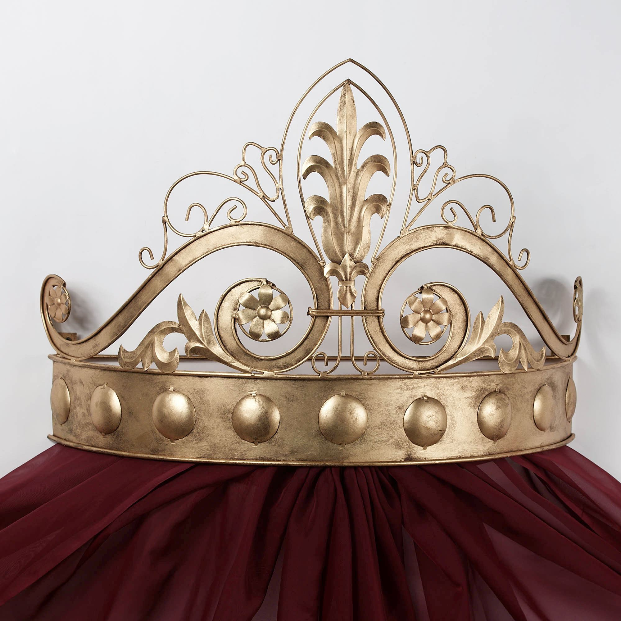 Lamoreaux Wall Teester Bed Crown on Wall Teester Bed Crown  id=87147