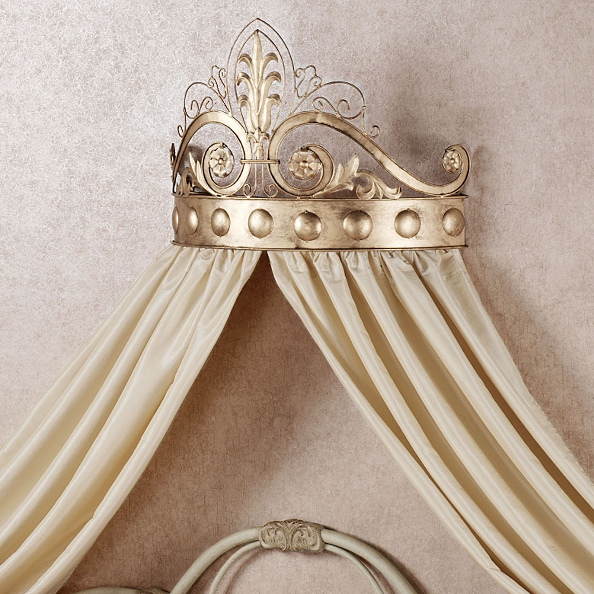 Lamoreaux Wall Teester Bed Crown on Wall Teester Bed Crown  id=14691