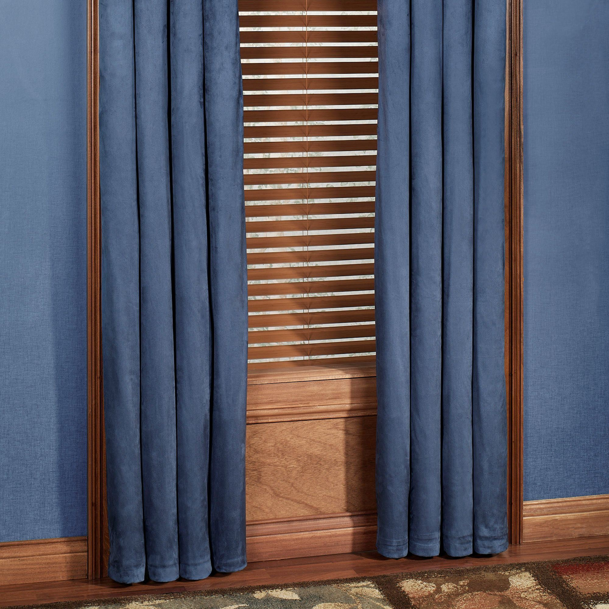 Alliance Faux Suede Tab Top Window Treatment