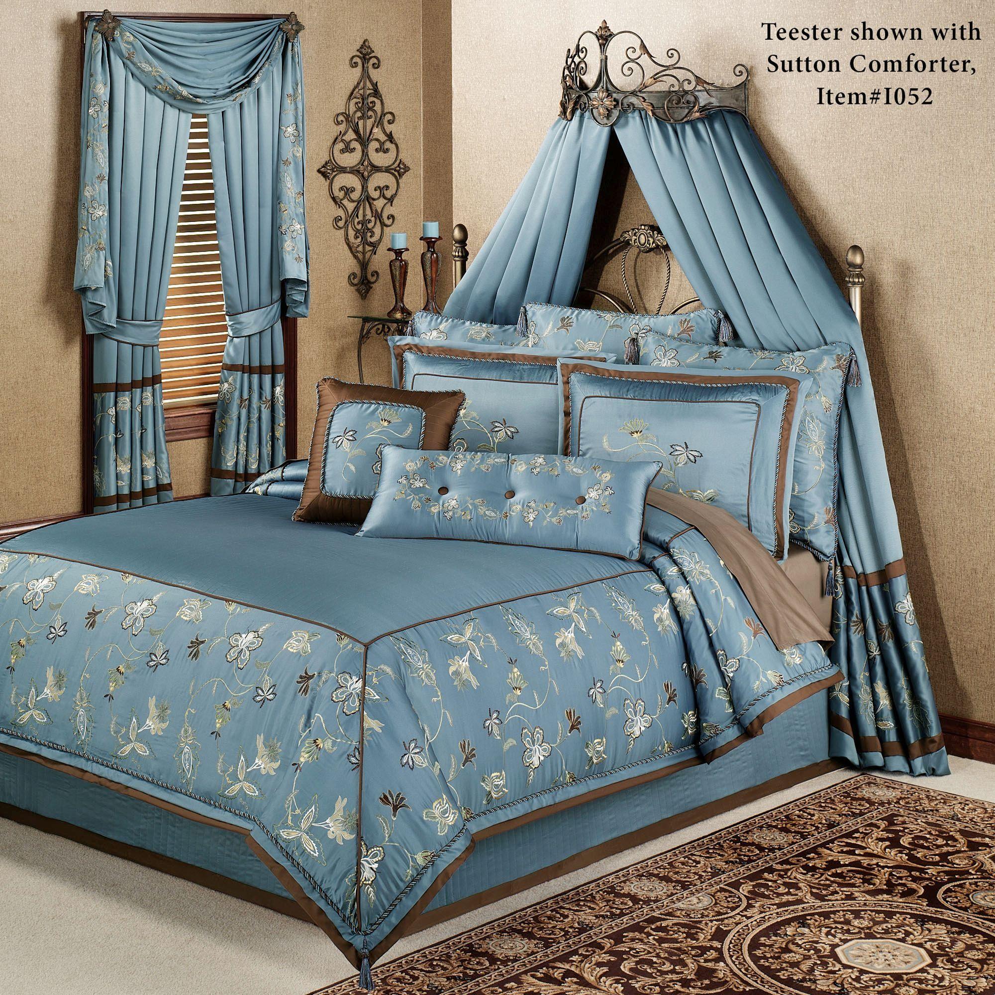 Teagan Wall Teester Bed Crown on Wall Teester Bed Crown  id=17690